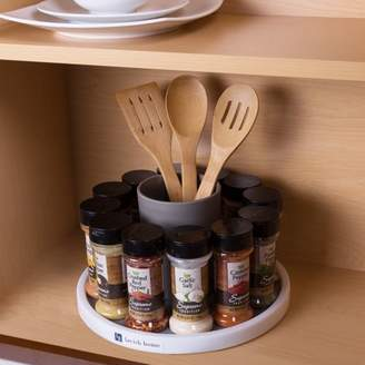 Lazy Susan Turntable Spice Rack- Rotating Cabinet, Shelf and Pantry Organizer by Lavish Home (Great for Kitchen and Household Organization)