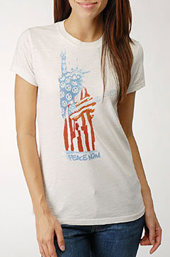 Lucky Brand Statue of Liberty T-Shirt
