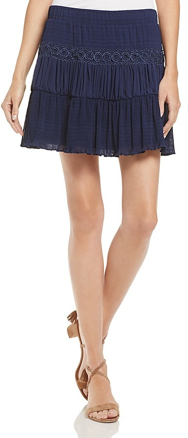 GUESS Sofia Peasant Skirt