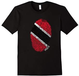 Trinidad & Tobago Pride Flag Fingerprint Country T-Shirt