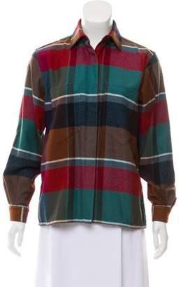 Missoni Plaid Wool Top