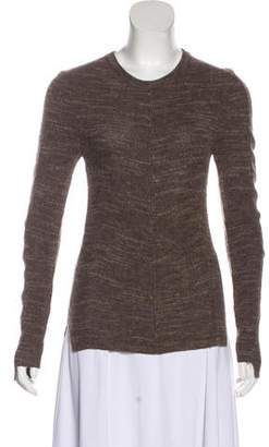 Celine Wool-Blend Crew Neck Sweater