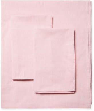 Melange Home Solid Chambray Sheet Set