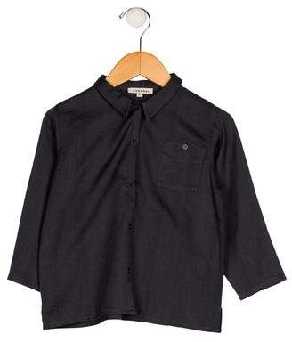 Caramel Baby & Child Boys' Collared Button-Up Shirt