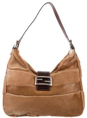 5d1bf958702b Fendi Fur Striped Mama Forever Bag