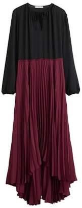 MANGO Pleated skirt dress