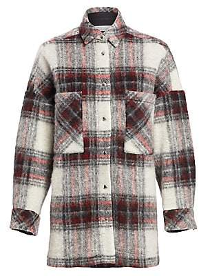 IRO Women's Minsky Plaid Jacket