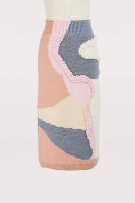 Peter Pilotto Wool blend skirt
