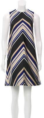 Martin Grant Printed Sleeveless Dress