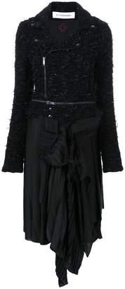 A.F.Vandevorst biker-style dress