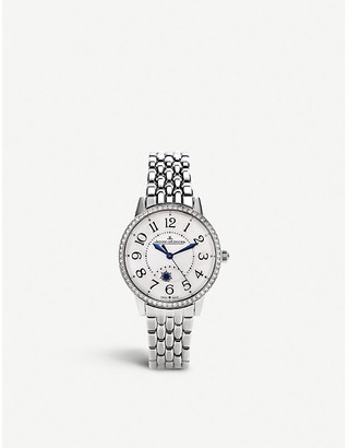 Jaeger-LeCoultre Rendez-Vous Night & Day stainless steel watch