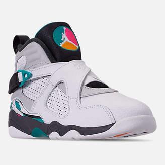 Nike Little Kids' Air Jordan Retro 8 Basketball Shoes