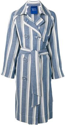 Simon Miller striped trench coat