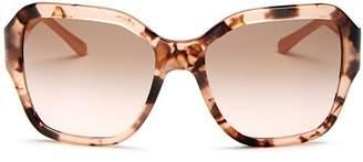 Tory Burch Women's Reva Square Sunglasses, 56mm