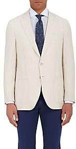Isaia Men's Dustin Two-Button Sportcoat-Beige, Tan