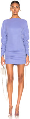 Thierry Mugler Long Sleeve Top in Blue | FWRD