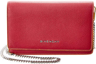 Givenchy Pandora Leather Wallet On Chain