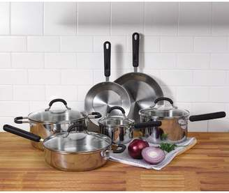 Oneida 10 Piece Stainless Steel Cookware Set