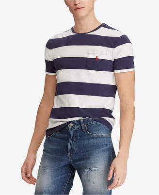 Polo Ralph Lauren Men's Big & Tall Classic Fit Cotton Stripe T-Shirt