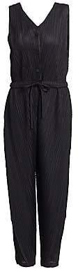 Pleats Please Issey Miyake Women's Thicker Bounce Sleeveless Jumpsuit