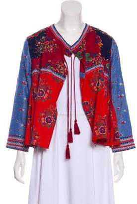 Ulla Johnson Embroidered Casual Jacket
