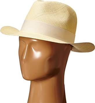 Hat Attack Women's Original Panama Hat with Classic Bow Trim