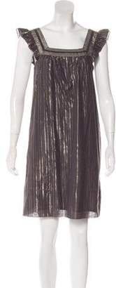 Marc by Marc Jacobs Metallic Mini Dress