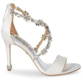 Badgley Mischka Embellished Evening Sandals