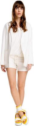 Max Studio cotton double-knit shorts