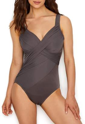 Miraclesuit Women's Miracle Solids Revelle One Piece Underwire Swimsuit