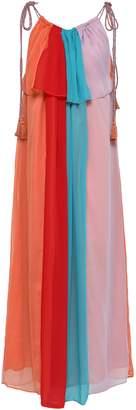 Antik Batik Anais Color-block Crepon Maxi Dress