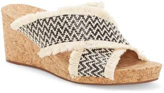 Lucky Brand Khillian Woven Wedge Slide Sandal
