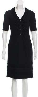 Valentino Knee-Length Wool Dress