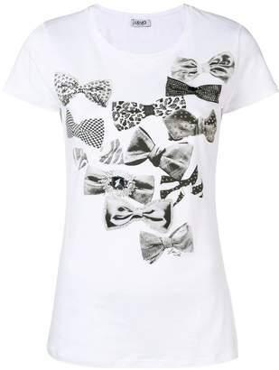 Liu Jo bow print T-shirt