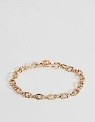 Hermes Chained & Able Link Chain Bracelet In Gold