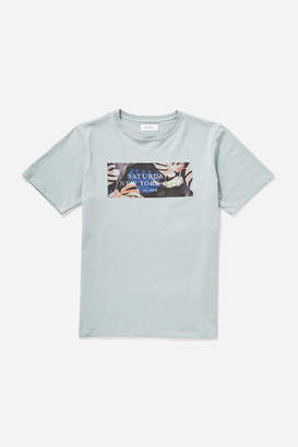 Saturdays NYC Monstera Block T-Shirt