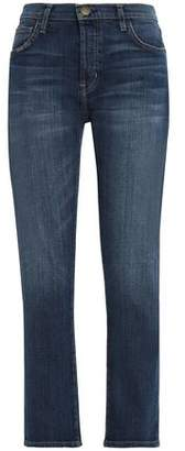 Current/Elliott The Slouchy Skinny Mid-Rise Slim-Leg Jeans