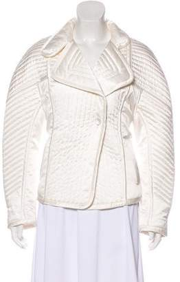 Barbara Bui Quilted Silk Jacket