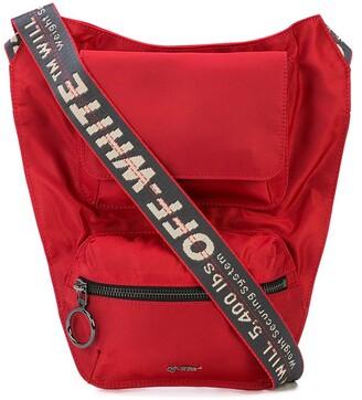 Off-White industrial strap shoulder bag