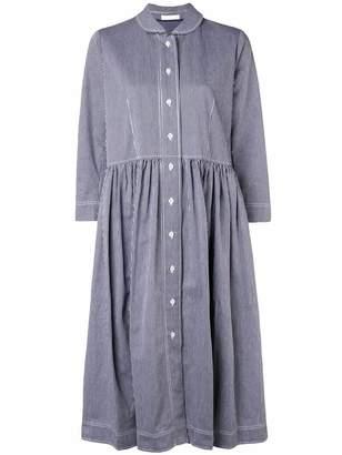 Peter Jensen striped smock shirt dress