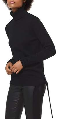 MICHAEL Michael Kors MICHAEL Turtleneck Side-Tie Sweater