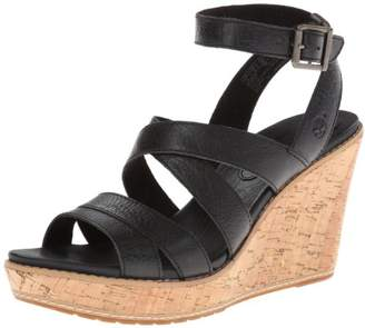 Timberland Women's Danforth Cork Wedge Sandal