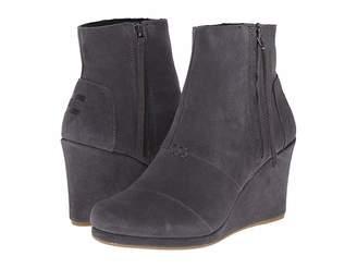 Toms Desert Wedge High Women's Wedge Shoes