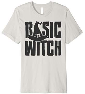 Basic Witch Funny Halloween Witch Costume T-shirt