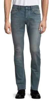 John Varvatos Straight-Leg Stretch Jeans