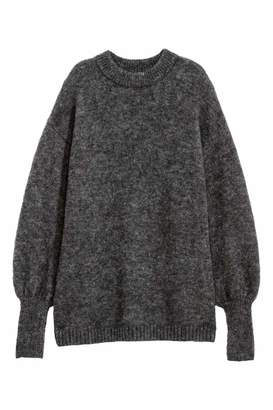H&M Knit Sweater - Dark gray - Women
