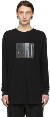 Song For The Mute Black Cactus Long Sleeve T-Shirt