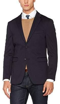 Esprit Men's 027EO2G019 Jacket, White (Navy)