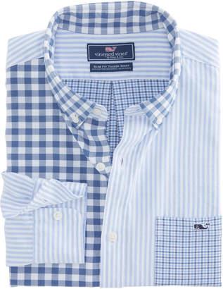 Vineyard Vines Cherrystone Party Slim Tucker Shirt
