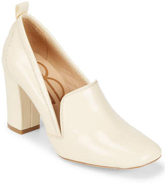Bill Blass Laverne Leather Closed Toe Pump